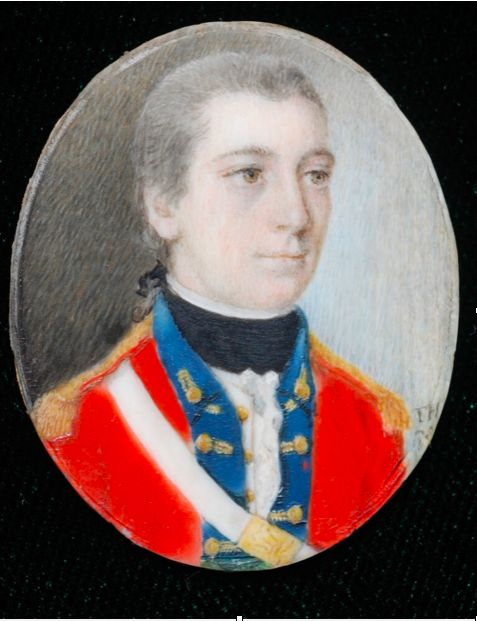 Major William Blakeney, 23rd Regiment of Foot (Royal Welch Fusiliers), 1778 Artist: Thomas Hill