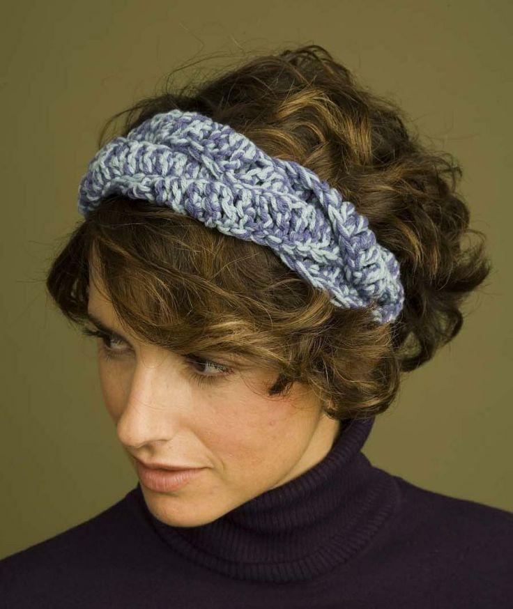 Free Crochet Braided Ear Warmer Pattern : Braided Headband Pattern (Crochet) Patterns, Crochet and ...