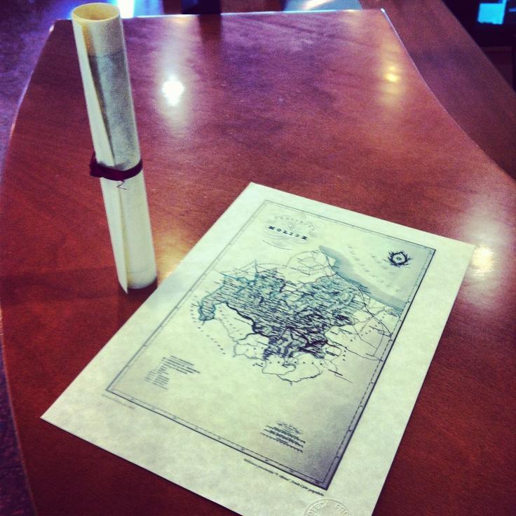 Porta un amico in biblioteca fino al 20 ottobre e ti doniamo una riproduzione del 1880 della Provincia di Molise, cartina che fa parte del Gindo Carte Geografiche della biblioteca provinciale Pasquale Albino di Campobasso