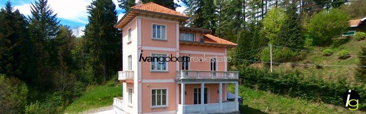 Elegant period villa on the hills of Stresa