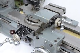 saddle view Myford  ML7 Trileva gearbox lathe for sale K99731