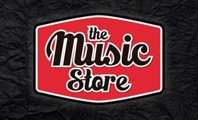 Logotipo para The Music Store. Tienda de Instrumentos Musicales