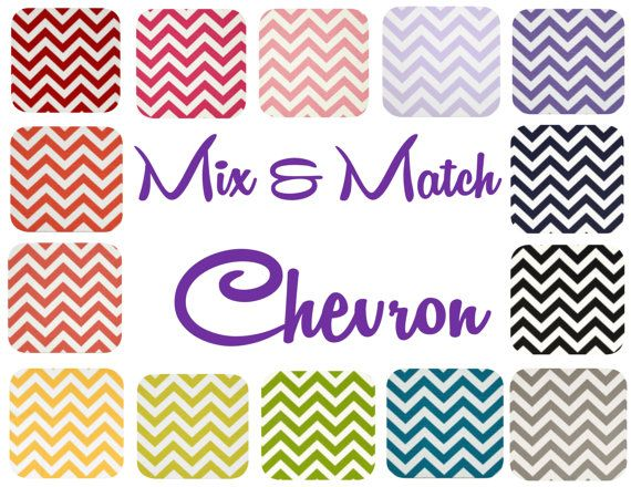 Looking for long pillows for your chairs or bed? Choose from these colorful chevron fabrics! Lumbar Pillow Cover  One 12 x 16 12 x 18 Chevron Long by mizzeztee, $15.00