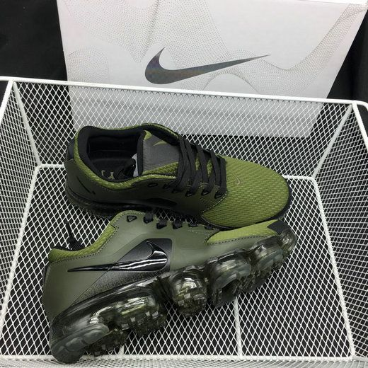 new style d4575 002f6 2018 Nike Air Max Mens Womans Army Green Black