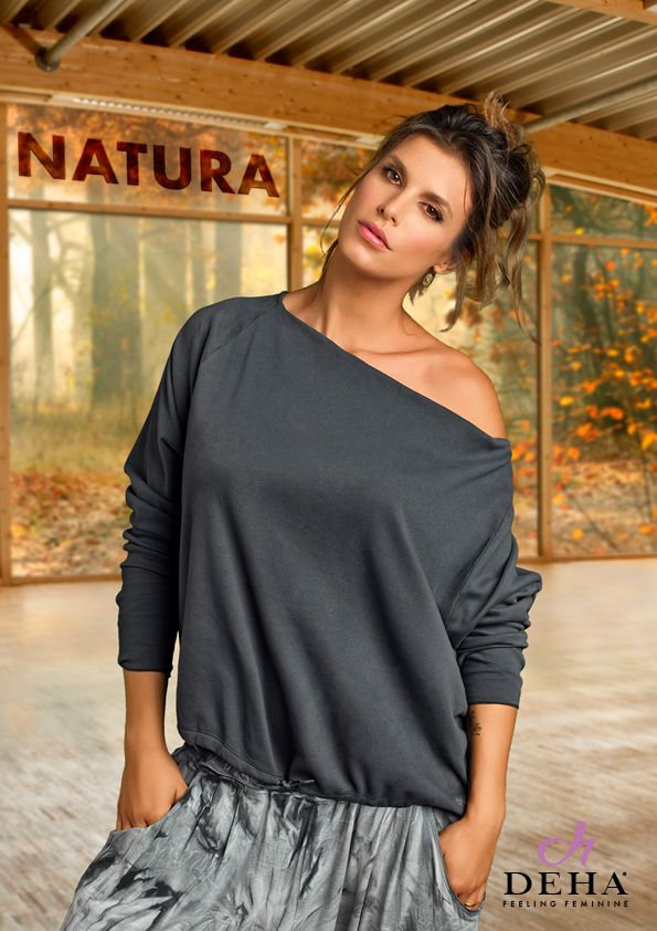 Elisabetta Canalis for Deha #FeelingFeminine #FeelingDeha #natura #nature