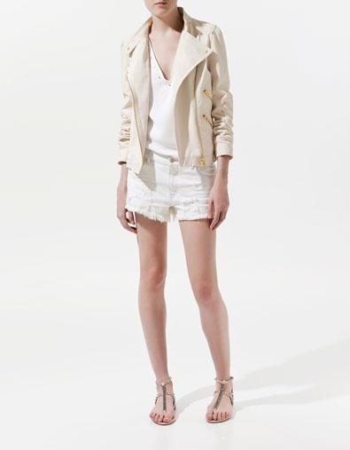 Zara Leather Jacket $249.00