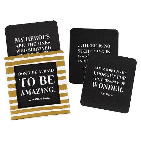 Inspirational Quotes Blank Cards (115 count) : Target
