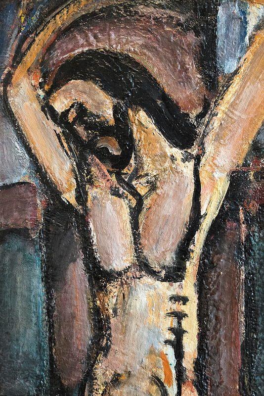 Christ aux outrages, vers 1918, George Rouault