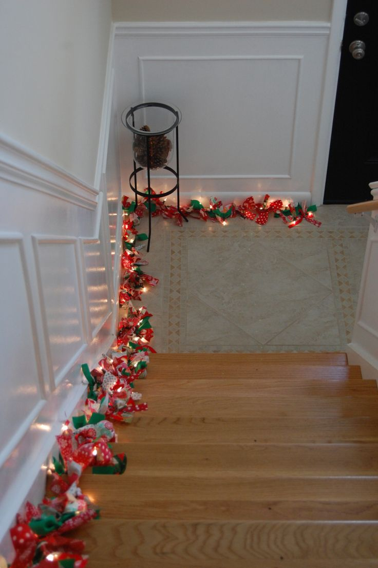 Materials: 100 count lights 2 1/2 yards of fabric A couple of Christmases ago the kids and I made rag wreaths for Christmas presents. I had extra Christmas material that I kept even thought it was …
