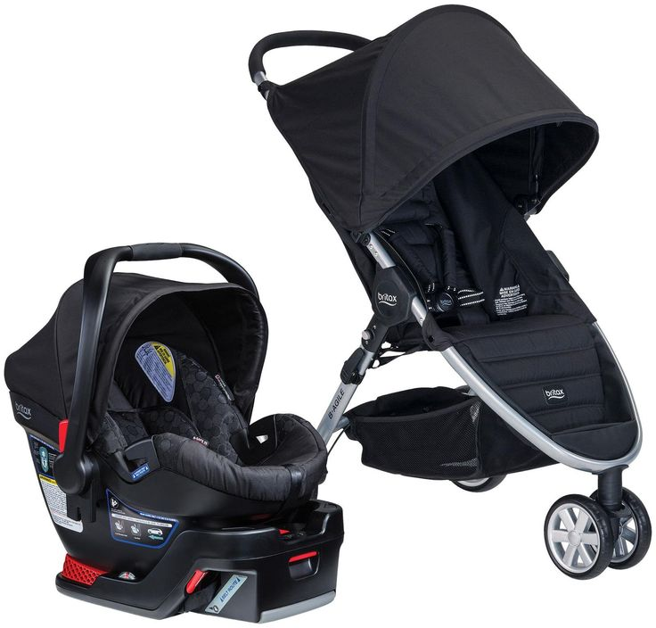 Britax B Safe  Elite Car Seat Babies Are Use