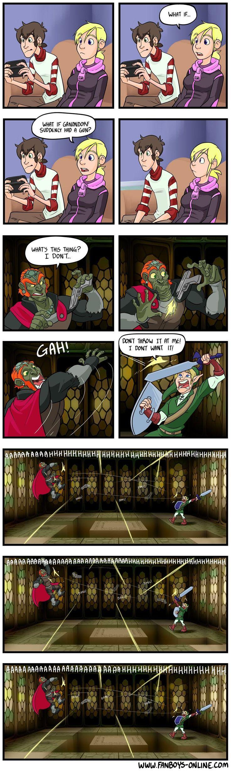 Zelda, Video Game Meme: If Zelda games turned FPS #gamermeme #gaming #gamerproblems