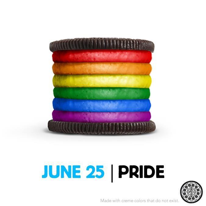 Oreo June 25 Pride