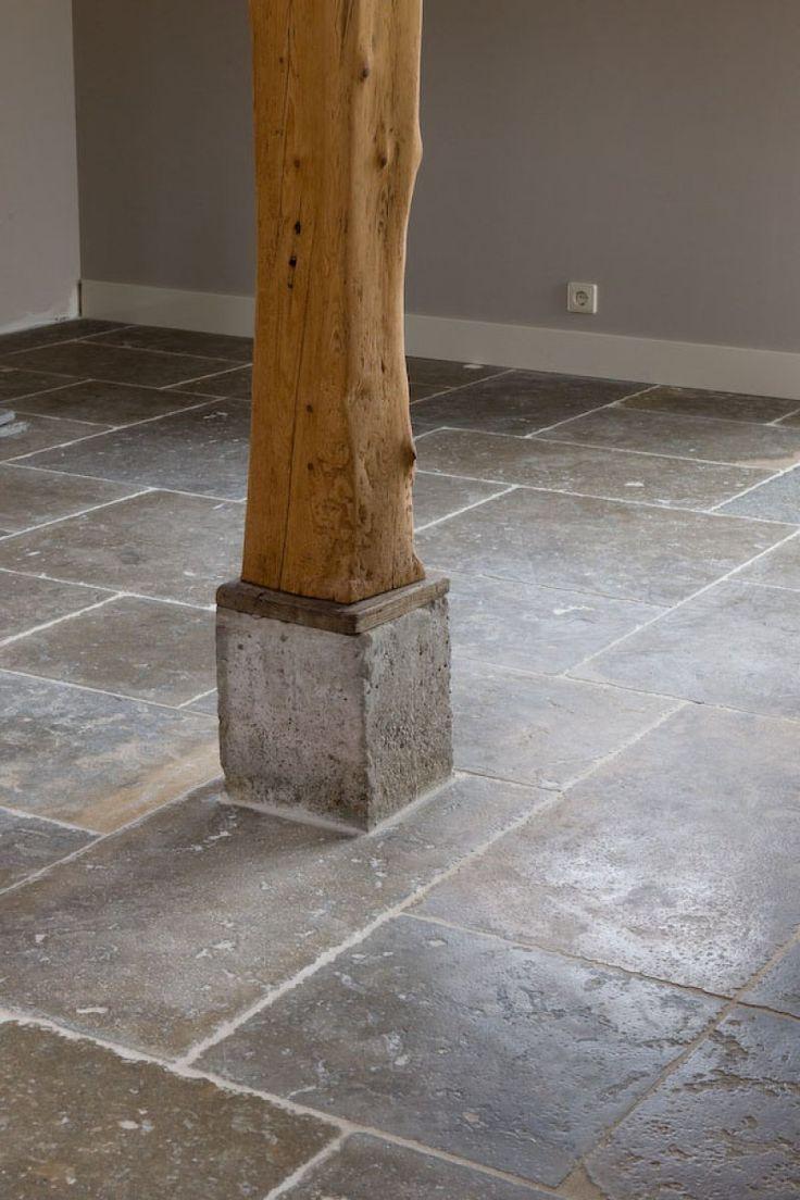 Natuurstenen tegelvloer Bourgondische dallen | Michel Oprey natuursteenleverancier