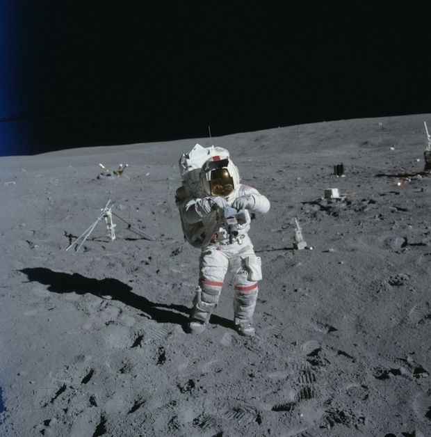 "moon apollo 11 and outer space Apollo 10 astronauts heard ""eerie"" and unexplained ""outer spacey"" music as they passed around the dark side of the moon something from outer space."