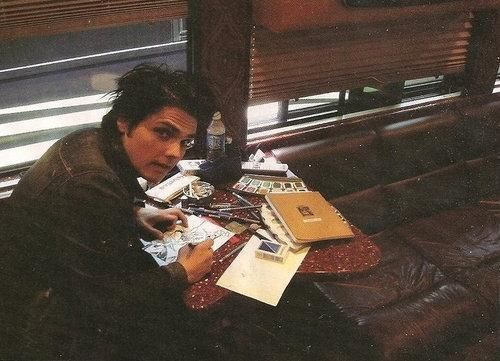 Photo of facking amazing for fans of Gerard Way.