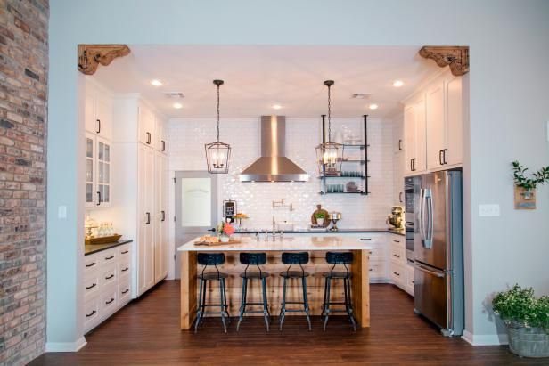 We're sharing 10 breathtaking kitchen renovations from HGTV's Fixer Upper. Check out the before-and-after photos. >> http://www.hgtv.com/design-blog/shows/10-incredible-kitchen-makeovers-from-fixer-upper?soc=pinterest