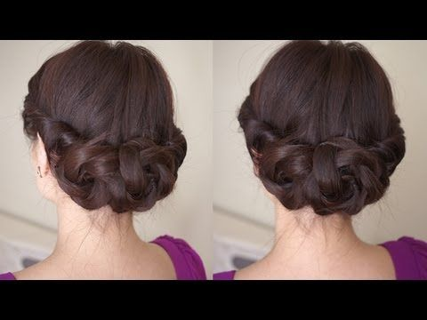 A Great Spring Braided Flower Hair Style :) Great For A Special