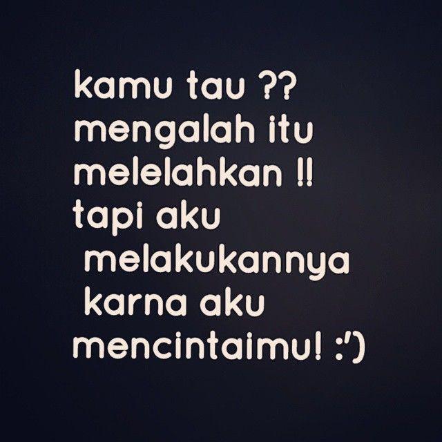 karena aku mencintaimu :)