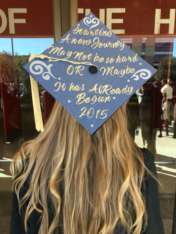 Graduation cap kingdom hearts theme quote