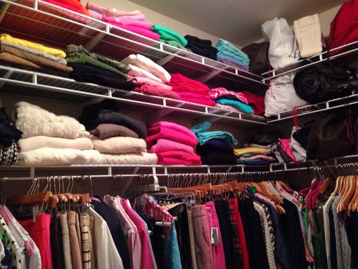 Color organization.