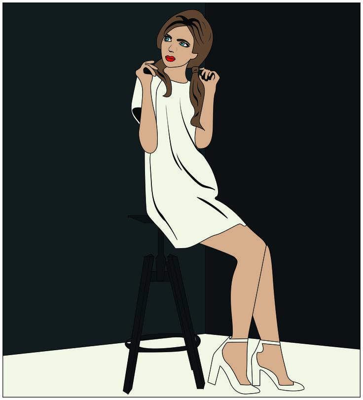 #fashion #graphics #illustration #art #illustrator #girl #popart #pop #art