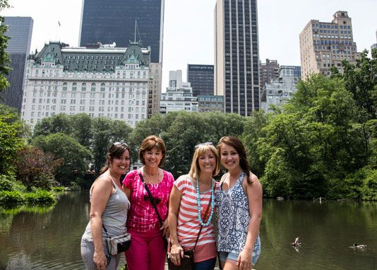 Take a leisurely walking tour through beautiful Central Park in New York City on the guided Central Park TV & Movie Sites tour. Visit 40+ filming locations!