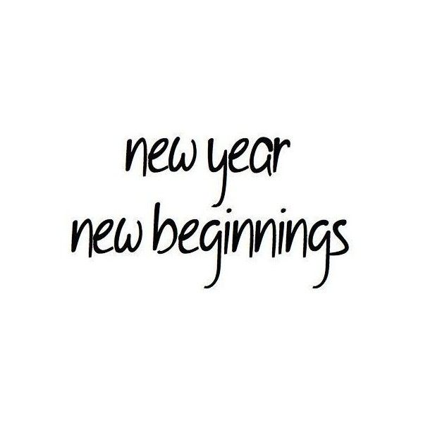 beginnings black and white new new year text photoromo liked on