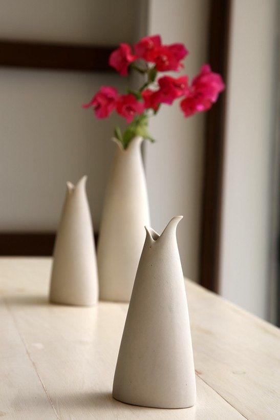 Small Ceramic Vase  Decorative and Functional  by SimoneCeramics, $39.00