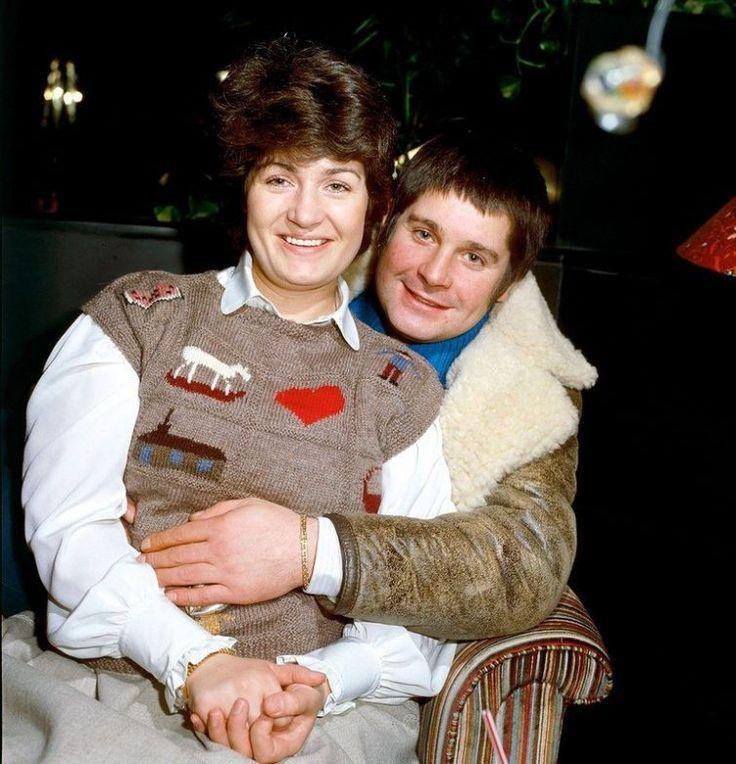 Оззи Осборн и его вторая жена Шэрон, Шотландии, 1982 год