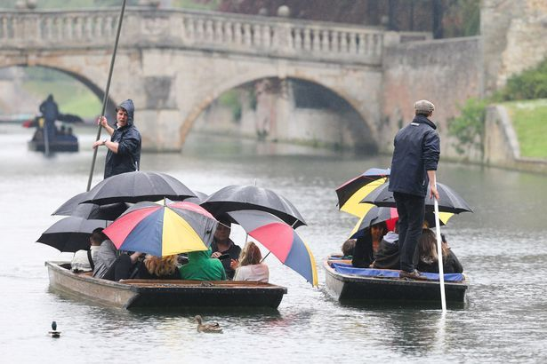 The fine weather is set to break in time for the Easter holiday
