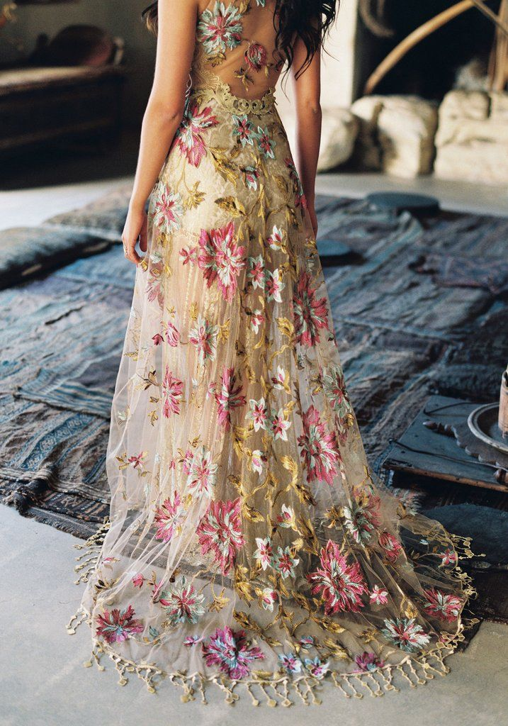 Shangri La Gown Colored Wedding Dresses Beautiful Dresses Gowns