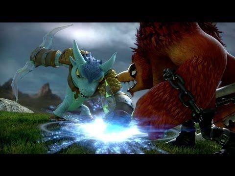 Skylanders SWAP Force [sur Wii U] est un jeu d'action et de plates-formes. Ce volet s'articule autour du concept d'interchangeabilité permettant aux enfants de permuter les moitiés supérieures et inférieures des jouets Skylanders pour créer leurs propres personnages. Il est ainsi possible de mélanger les pouvoirs des personnages et leurs mouvements, puis de les ramener à la vie dans le jeu. La quête des joueurs consiste à explorer les Cloudbreak Islands pour défaire Kaos.
