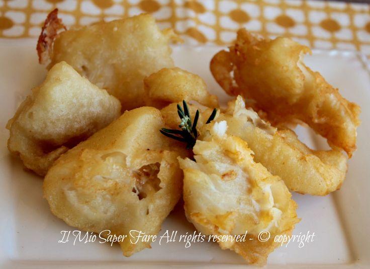 Baccalà fritto in pastella per la Vigilia di Natale ricetta il mio saper fare