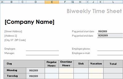 Free Printable Timesheet Templates | open office templates time sheets templates microsoft office printable ...