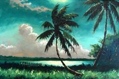 Highwaymen art--Livingston Blue