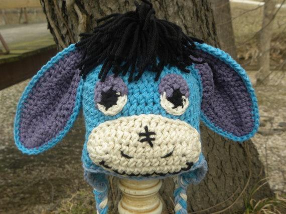 Free Crochet Pattern Donkey Hat : 137 best ideas about Kids hats on Pinterest Monkey hat ...