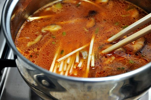"Homemade ""Instant Shin Ramyun Hot Spicy Ramen"""