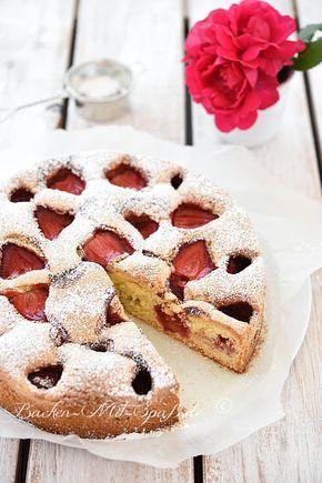 Sunken strawberry cake  – Kuchen