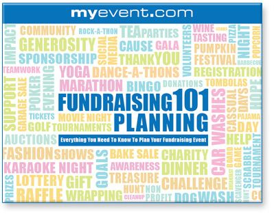 50 Fundraising Event Ideas - Very detailed article describing how to plan and organize your fundraising event to raise the most funds.