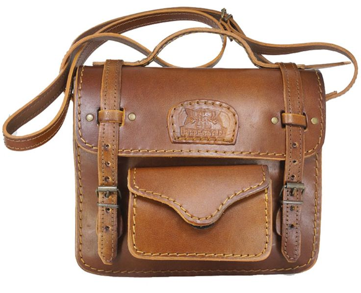 R 1'390. Freestyle Connie II. Brown Genuine Leather Handbag. Handcrafted in South Africa