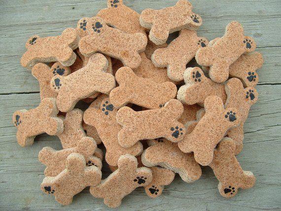 18 pcs Dog Bone Mini 1″ Non Edible Salt Dough Ornaments Group of eighteen (18) Finished Minis