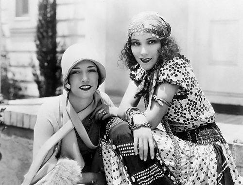 Lupe Velez and Dolores Del Rio  05 Jul 1928