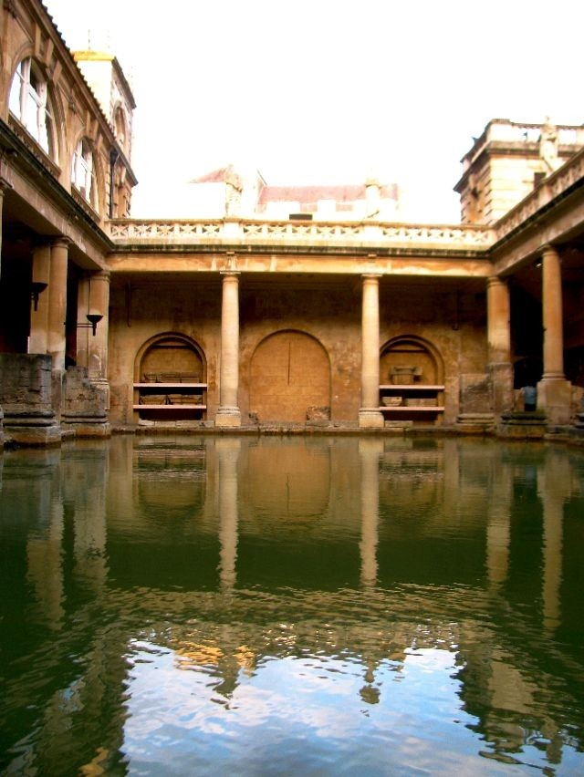 Roman baths in Bath, England: another place I want to go back to