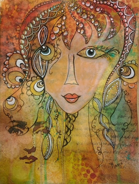 Marjas Creativity (paintings, art journals etc)
