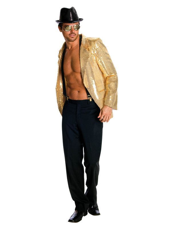5955990f Adult Gold Sequin Jacket | COSPLAY? DRAG? Not the same thing - want ...
