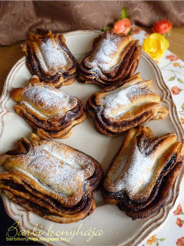 Barbi konyhája: Orosházi banán - nálam Kakaós tulipán :)