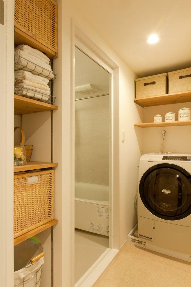 インテリックス空間設計、リノベーション、浴室、バスルーム、可動式棚、