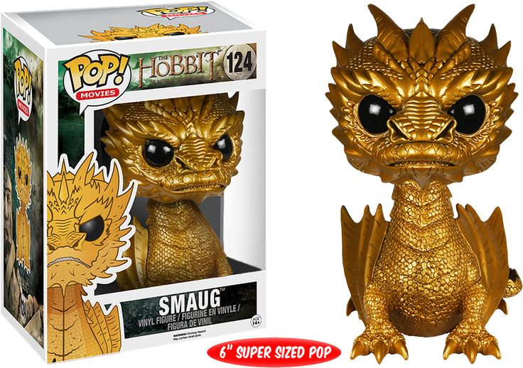 Here are the first images of the NEW The Hobbit GOLDEN Smaug POP! Vinyl Figure, CLICK HERE FOR MORE DETAILS on the new FUNKO release