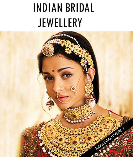 DIFFERENT TYPES OF INDIAN BRIDAL JEWELLERY