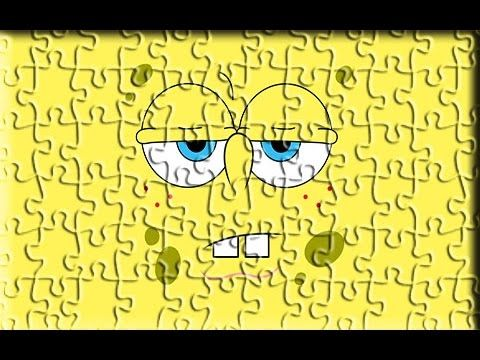 Sponge Bob New Style Puzzle Games For You - YouTube